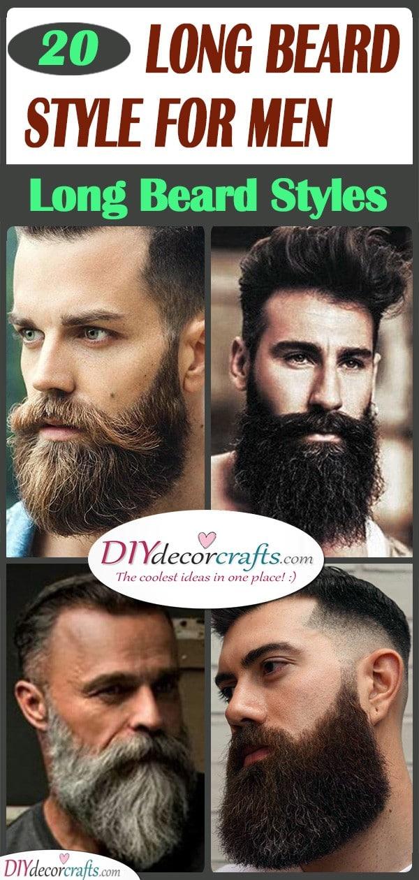 20 LONG BEARD STYLE FOR MEN - Long Beard Styles