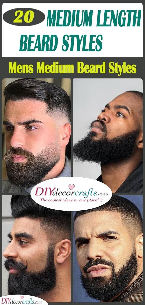 20 MEDIUM LENGTH BEARD STYLES - Mens Medium Beard Styles