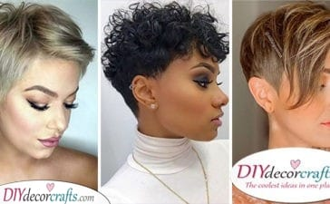 20 SHORT HAIRCUT STYLES FOR WOMEN – Short Natural Hairstyles for Women