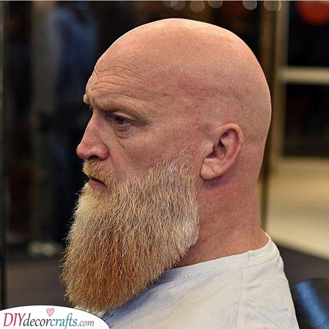 The Ducktail - Beard Style for Bald Men