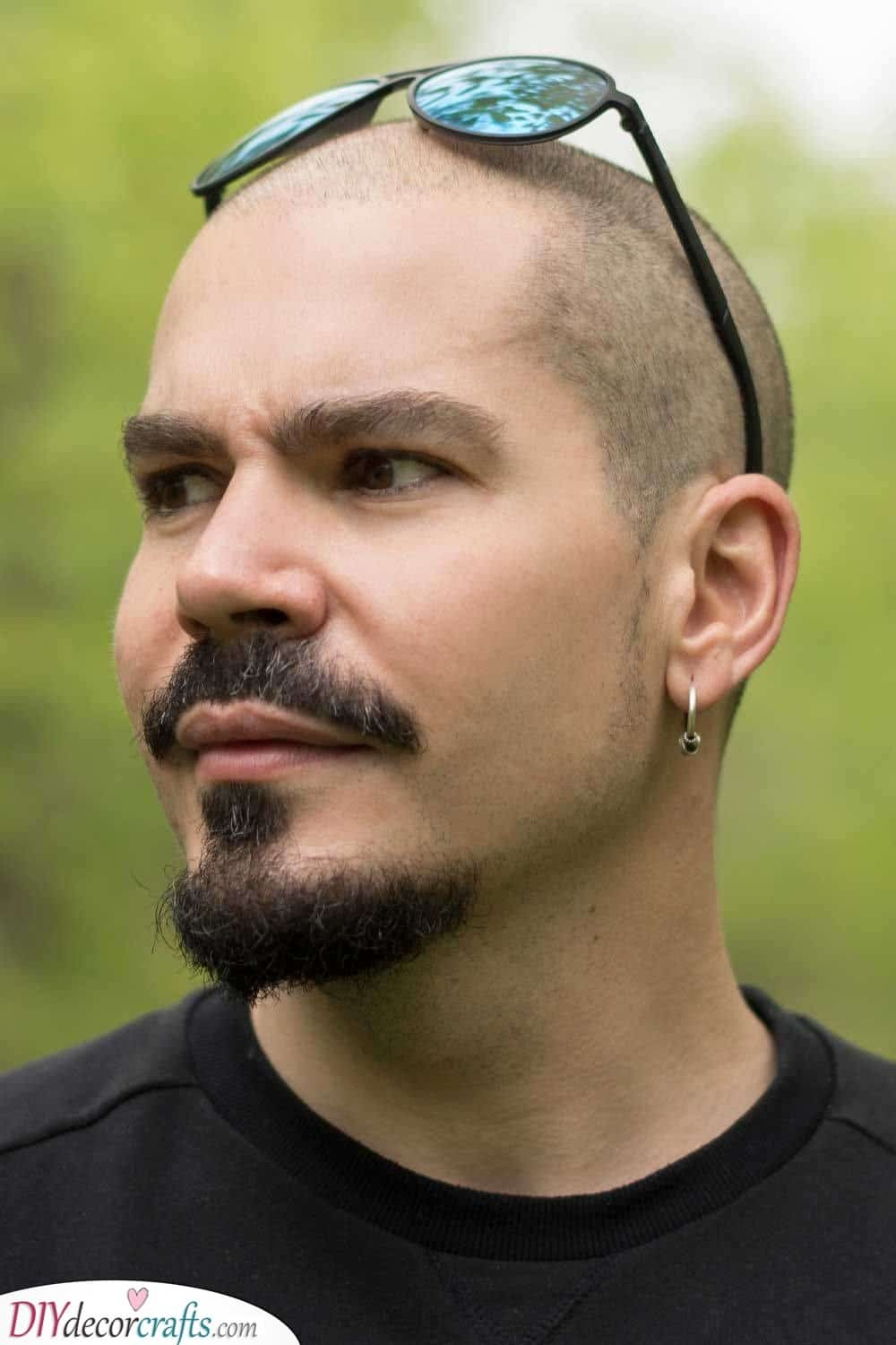 The Anchor - Shaved Head with Beard Styles