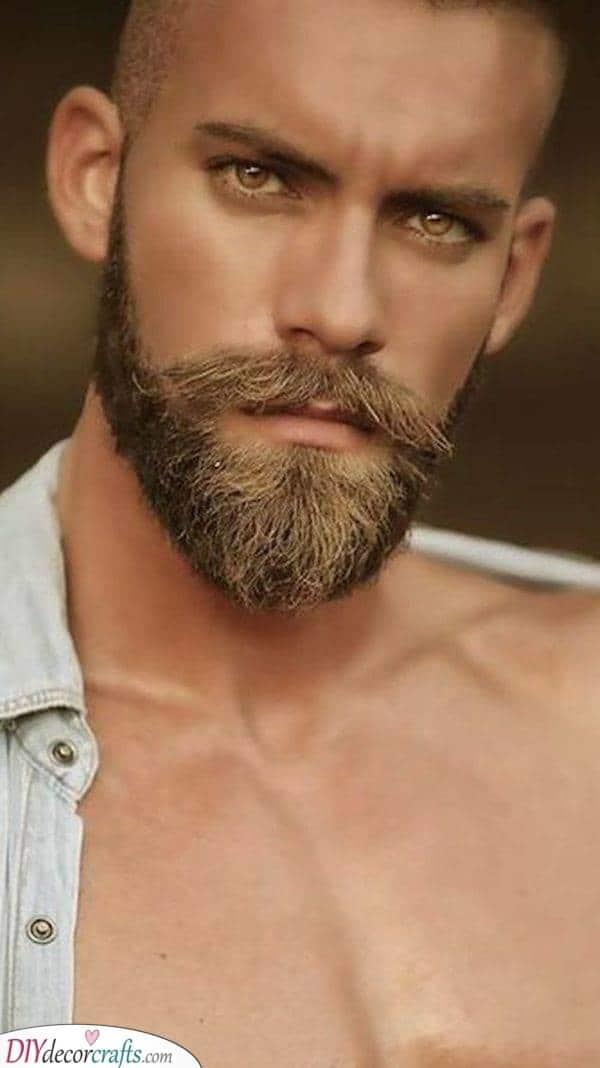 Adding Length - Beard Style for Bald Men