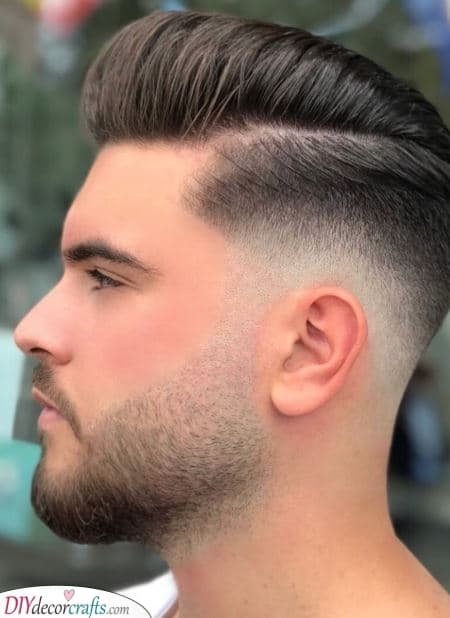 A Fantastic Fade - Best Beard Shape for Round Face