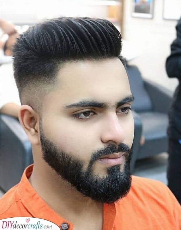 Clean Cuts - Best Beard Styles for Round Face