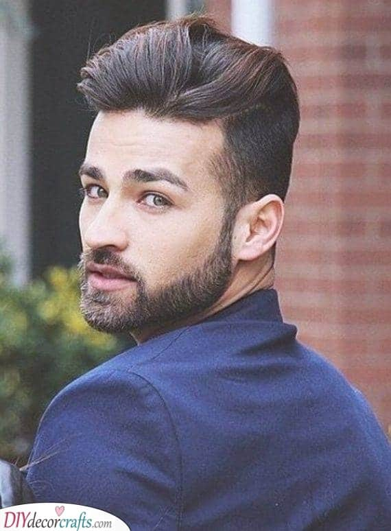 Paired with a Pomp - Easy Facial Hair