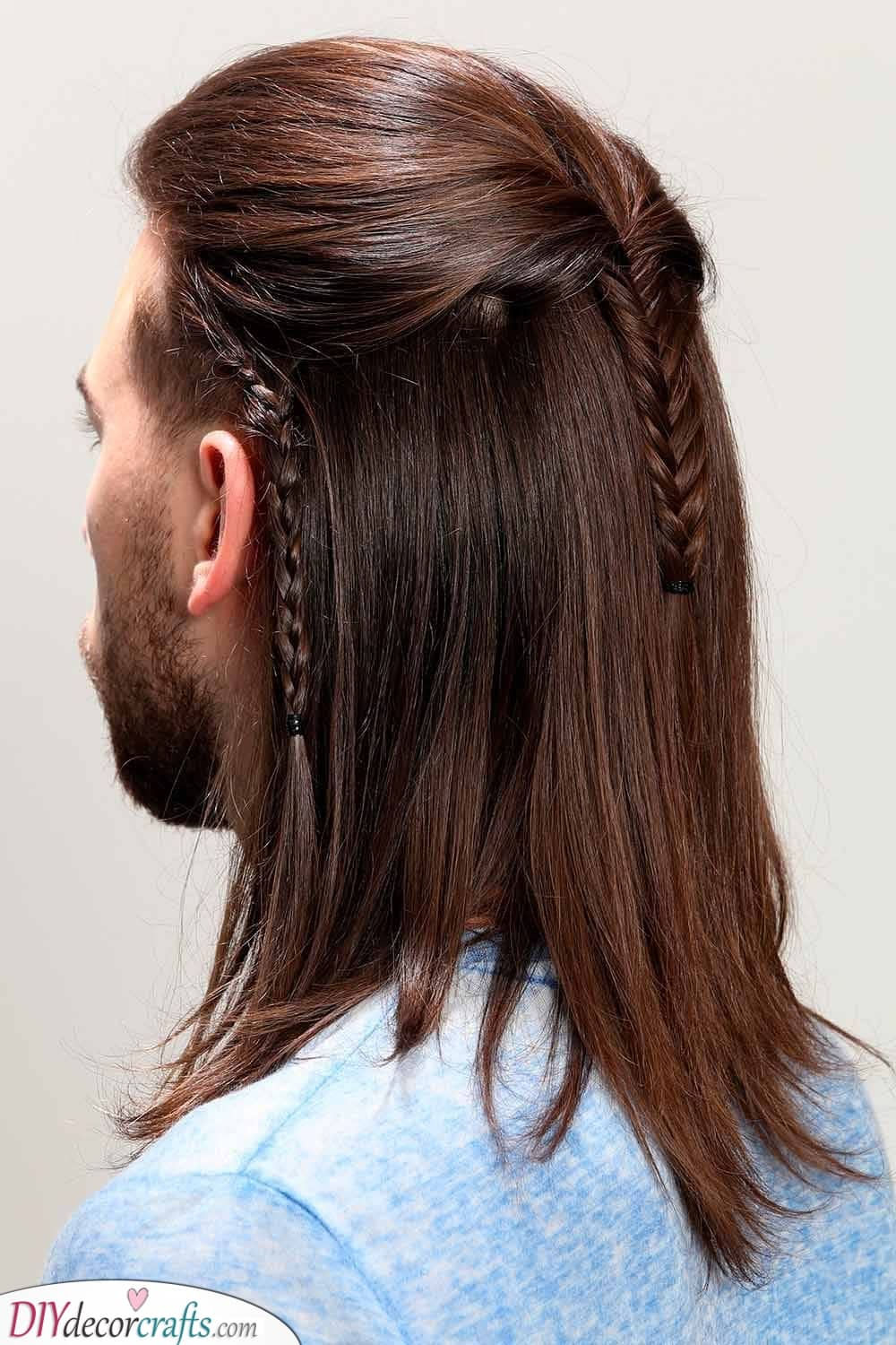 An Elf Style - Braid Hairstyles for Men