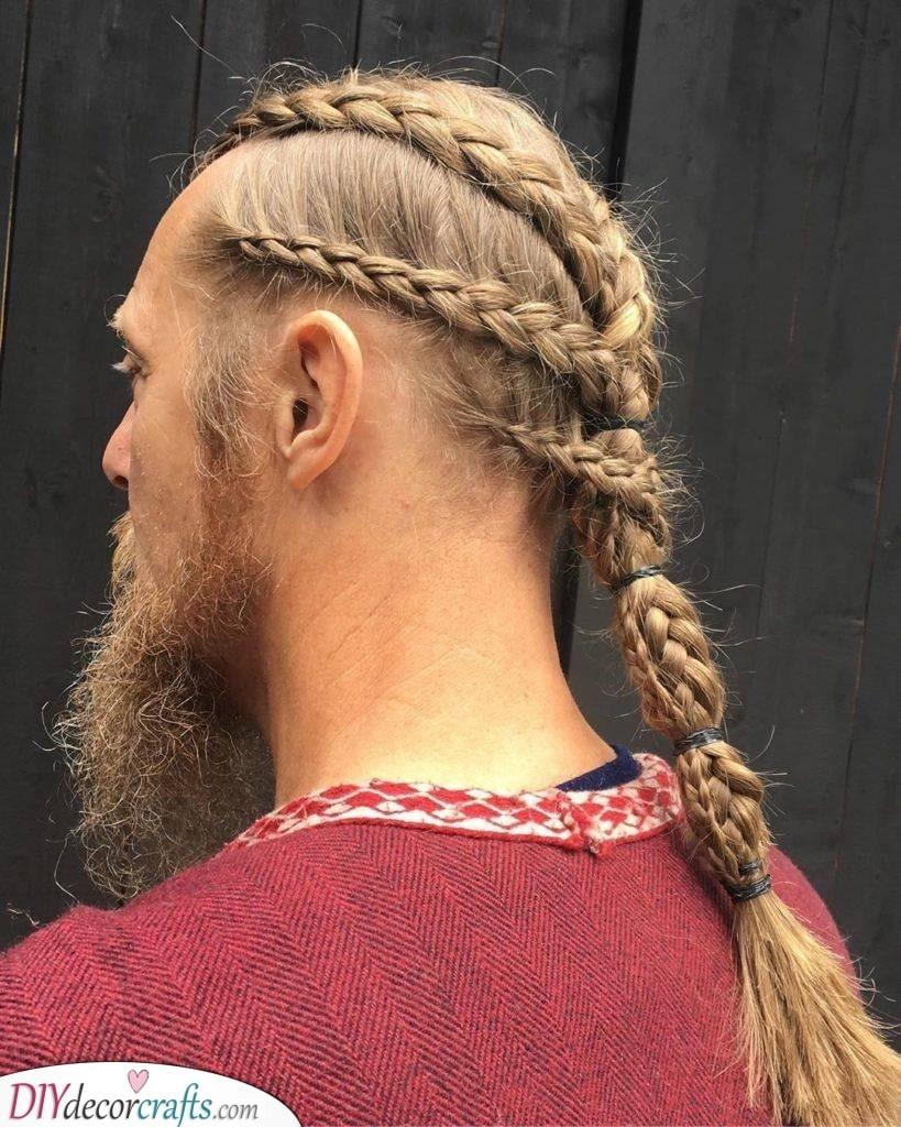 A Wild Viking - Braided Hairstyles on Men