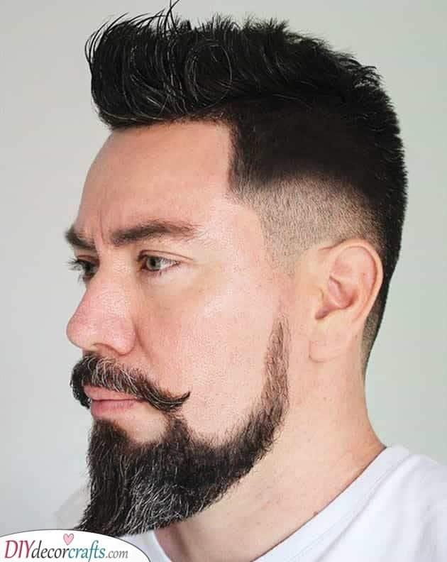 The Feeling of a Ducktail - Goatee Beard Styles