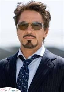 The Tony Stark - Goatee Beard Styles