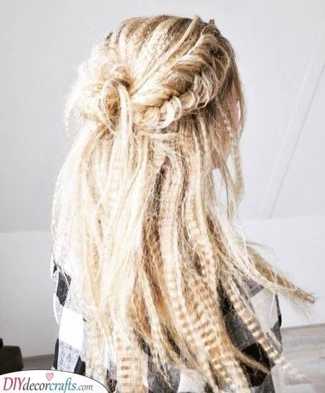 A Bohemian Vibe - Crimped Wavy Hair