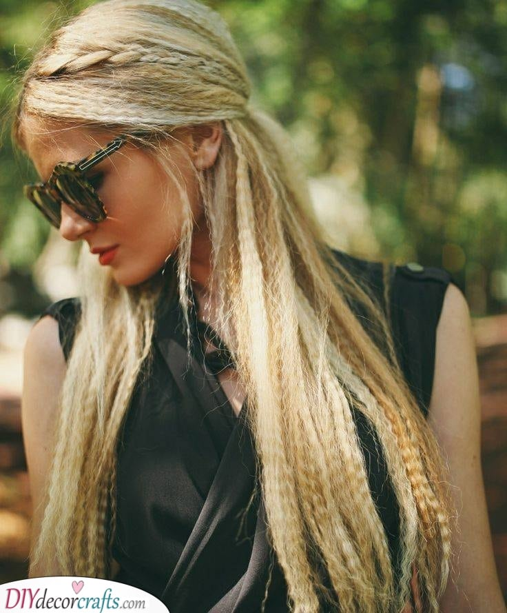 Getting It All Done - Beautiful Crimped Hairstyles