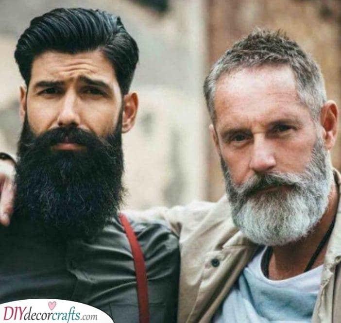 The Benefits of a Full Beard - Long Beard Style for Men