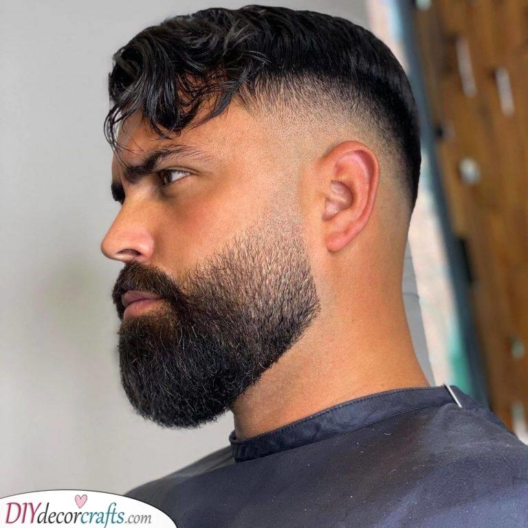 Adding a Fade - Handsome Long Beard Styles