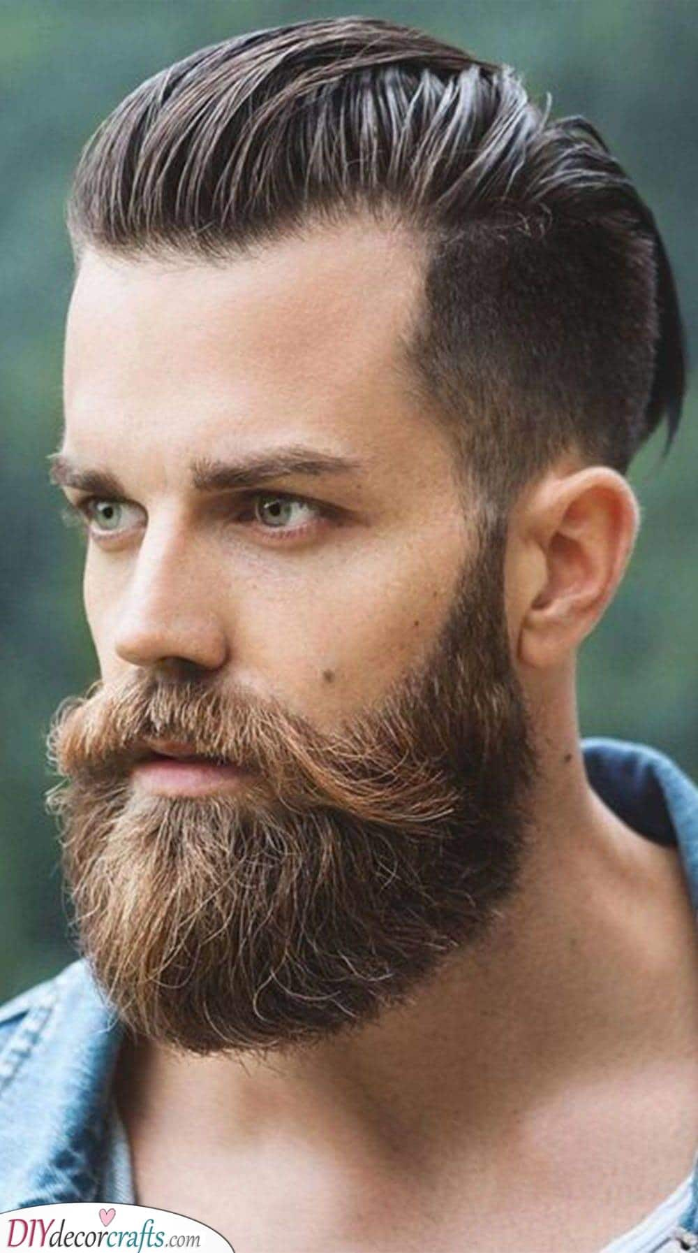 A Perfect Pairing - A Pompadour and Beard