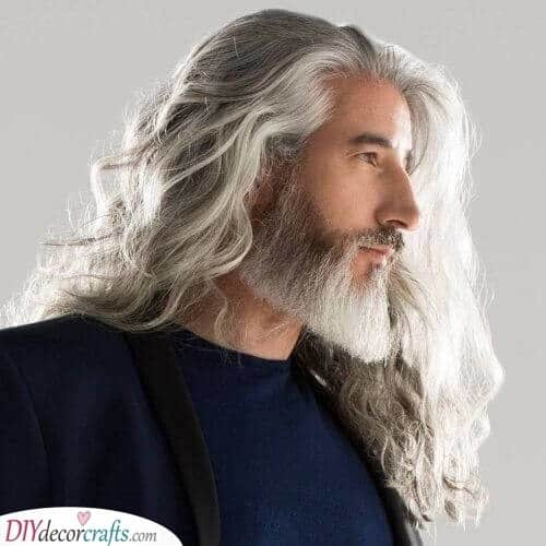 A Fabulous Combination - Of Hair and Facial Hair
