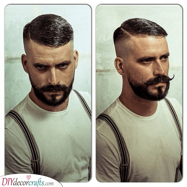 An Amazing Moustache - Medium Length Beard Styles