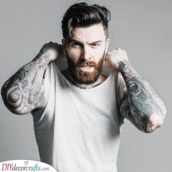 Bold and Masculine - Men's Medium Beard Styles