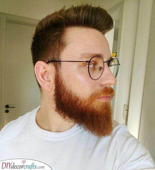 A Pointed Beard - Medium Beard Style Ideas