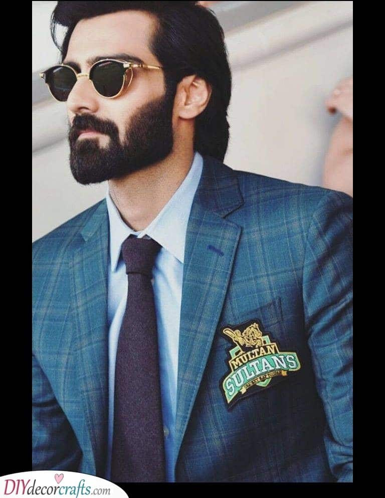 The Full Beard - Medium Length Beard Styles