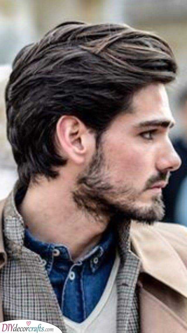 Youthful and Refined - Men's Medium Haircuts
