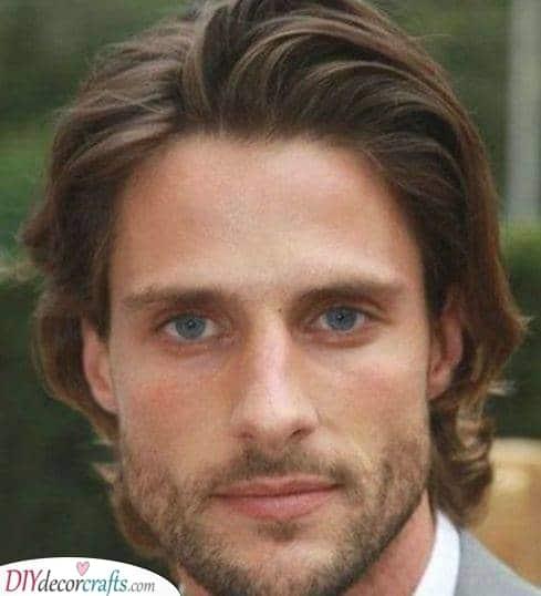 A Medium Flow - Medium Length Hairstyles for Men