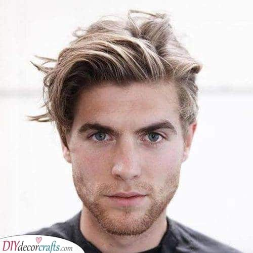 Cool and Messy - Medium Length Hairstyles for Men