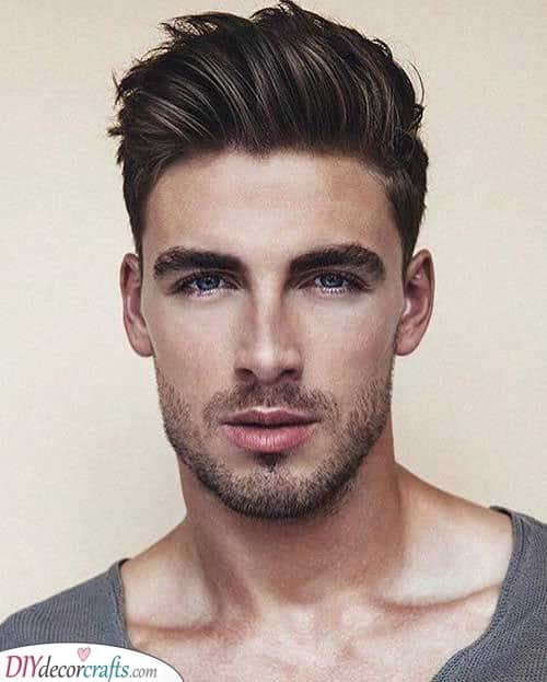 An Awesome Quiff - A Carefree Look