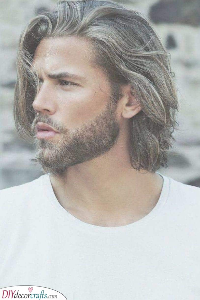 Windswept and Wispy - Medium Length Hairstyles for Boys