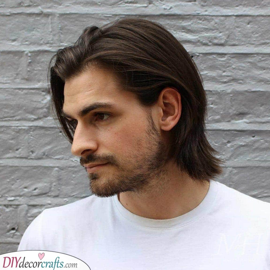 A Bit Longer - Stylish Medium Length Hairstyles for Men