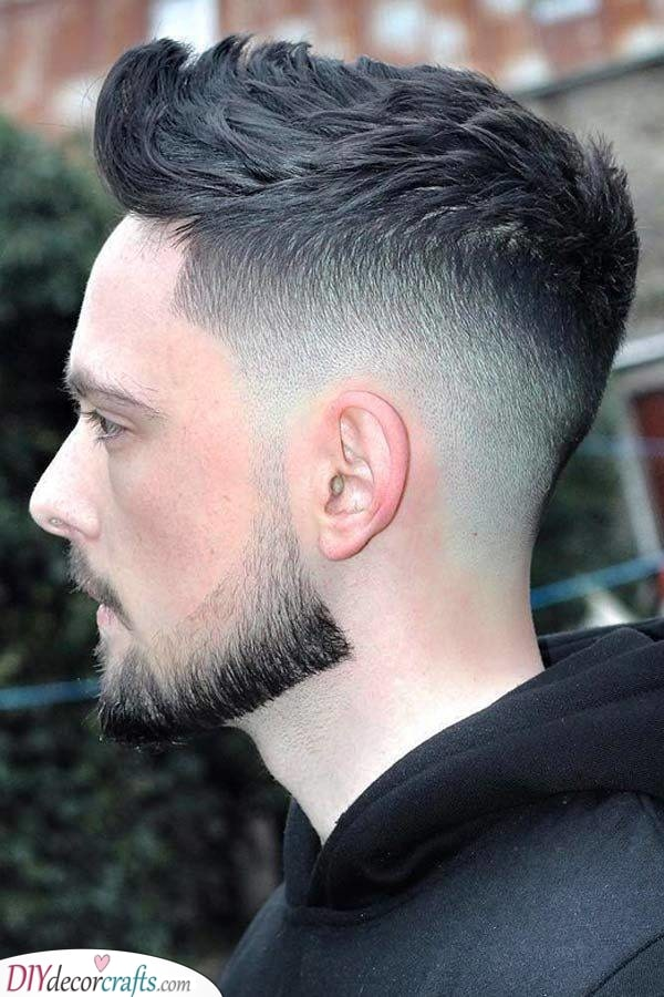 A Chin Strap Beard - Easy and Short Beard Style for Men