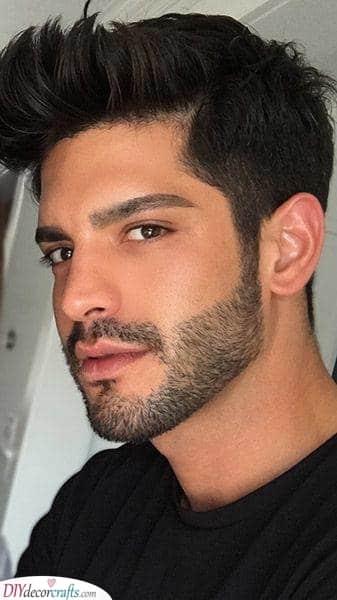 Longer Stubble - Short Beard Style for Men