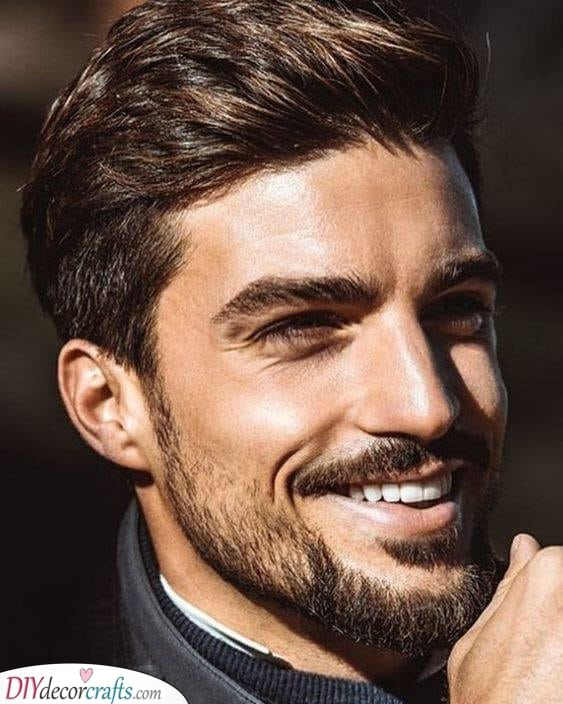 Rugged and Handsome - Short Beard Style for Men