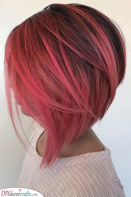 Vibrant and Fabulous – Short Coloured Hair