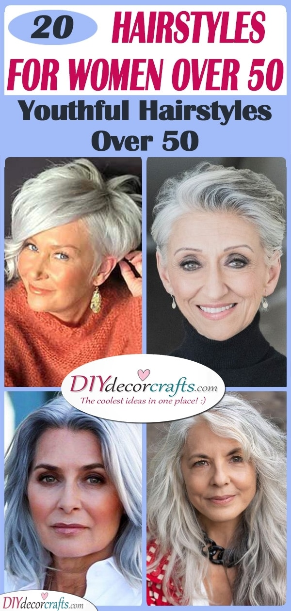 25 BEST HAIRSTYLES FOR WOMEN OVER 50 - Youthful Hairstyles Over 50