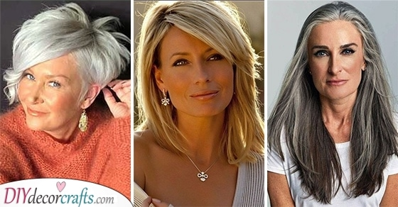 BEST HAIRSTYLES FOR WOMEN OVER 50 - Youthful Hairstyles Over 50
