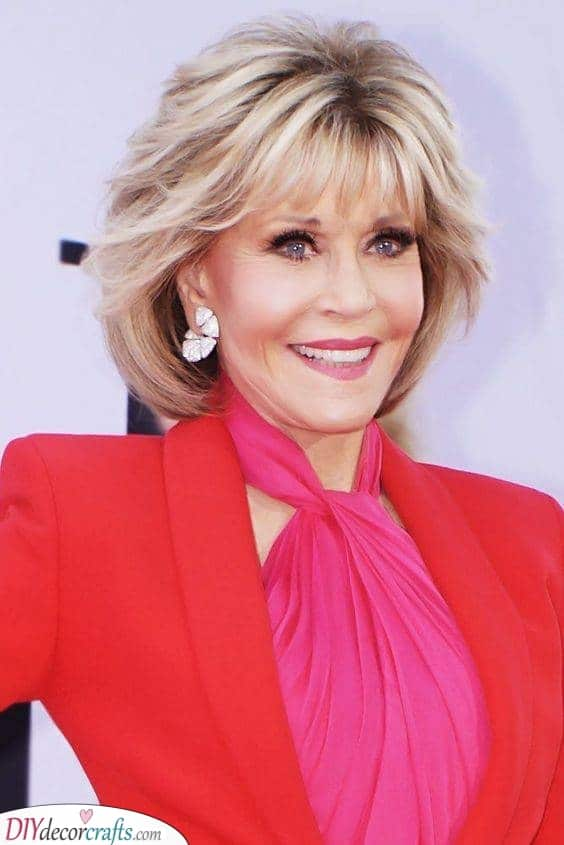 A Classic Look - Youthful Hairstyles Over 50