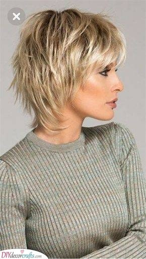 A Short Shag - Youthful Hairstyles Over 50