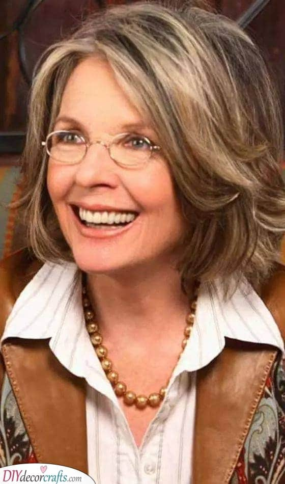 Fabulous Layers - Haircuts for Women Over 50