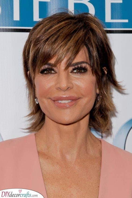 Shaggy and Cool - Best Hairstyles for Women Over 50