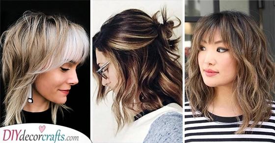 25 MEDIUM HAIRCUTS FOR WOMEN - Hairstyles for Medium Length Hair