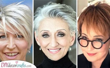 20 SHORT HAIRCUTS FOR WOMEN OVER 50 - Short Hairstyles for Older Women