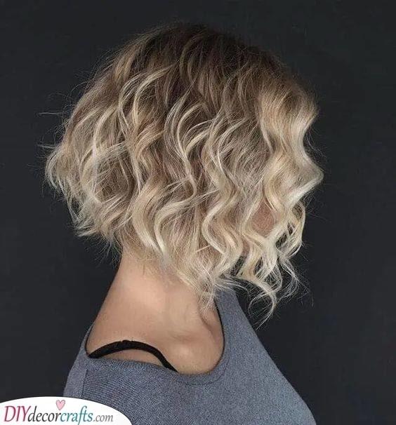 Cute and Fun - Curly Bob Hairstyles
