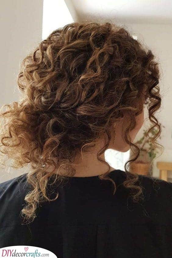 A Simple Low Bun - Great and Gorgeous