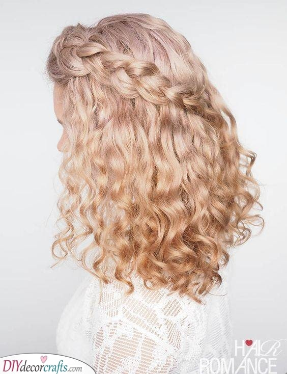 A Romantic Look - Great for a Wedding