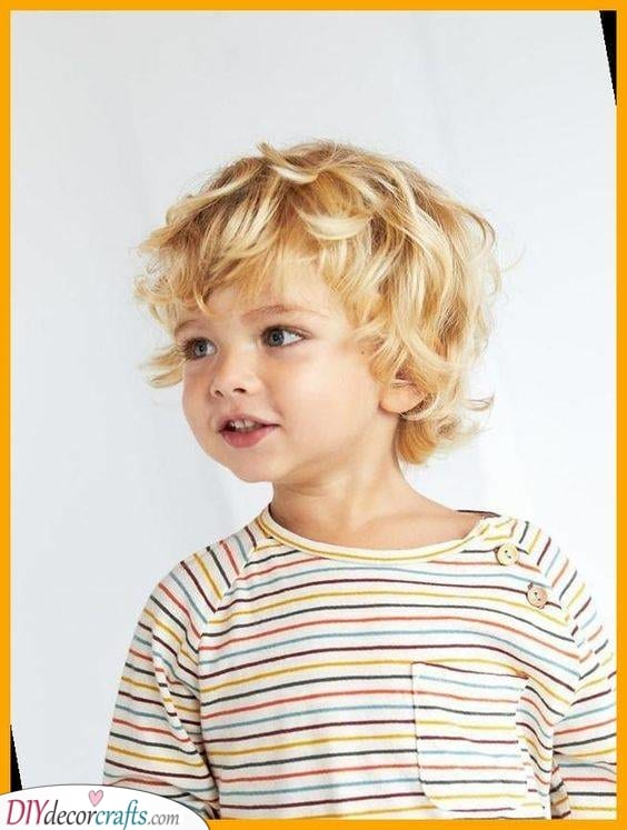 Gorgeous Waves - Little Boy Haircuts with Curly Hair