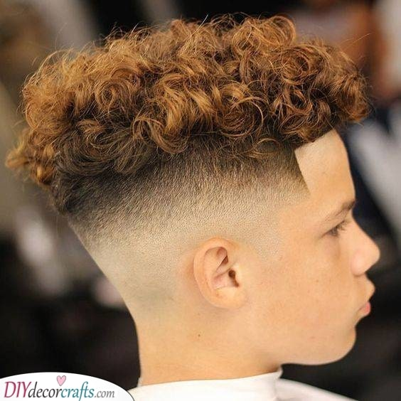The Fade - Haircuts for Toddlers with Curly Hair