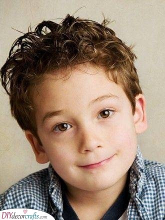 Keeping it Short - Little Boy Haircuts with Curly Hair