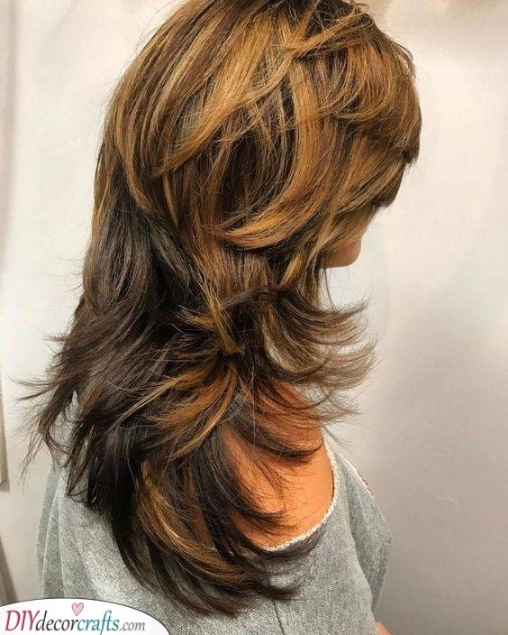 Hairstyles for 50 Year Old Woman with Long Hair
