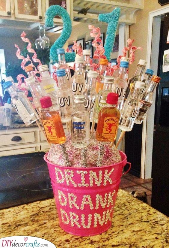 A Bouquet of Booze - Personalised Gifts for Friends