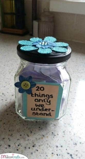 A Jar of Things - Only for the Two of You